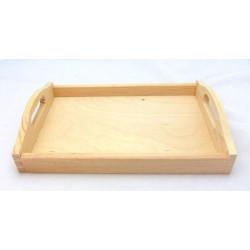 Podnos dřevěný střední (NEM)