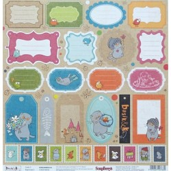 Basic & Ko, Cards 3 jednostranný 30,5x30cm