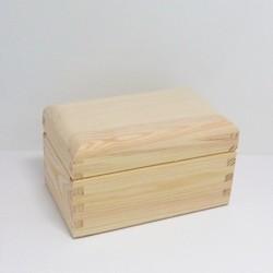 Krabička na čaj - 2 komory, oblé víko
