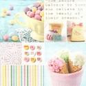 Vintage Ice Cream 33x33