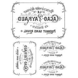 Papír pro transfér 1ks - Cacao Payraud