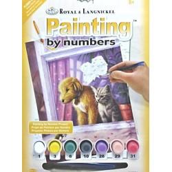 Malování podle čísel - myš je kámoš