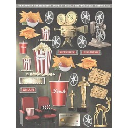 Papírové výseky - Kino