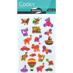 Samolepky Cooky - Hračky