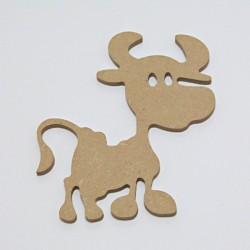 MDF výřez - kravička 12x15cm