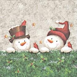 Sněhuláčci kamarádi 33x33