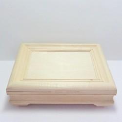 Dřevěná krabička obraz - obdélník