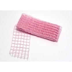 Stuha síť 5cmx2m růžová