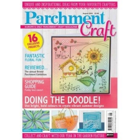 Parchment Craft 2016/08 - časopis