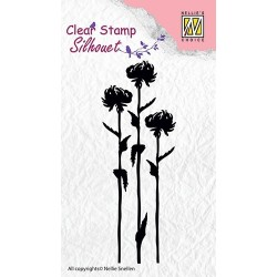 Transp.razítko Tři květiny (Nellie´s Choice)