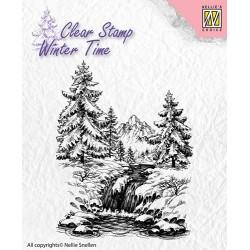 Transp.razítko Zimní vodopád (Nellie´s Choice)