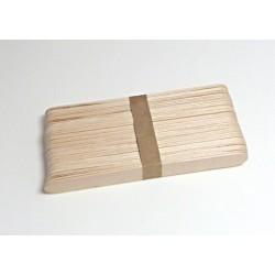 Dřevěné špachtle 15cm, 40ks