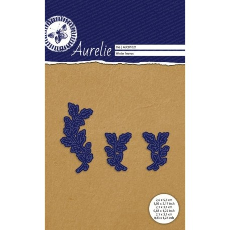 Vyřezávací šablony Aurelie - zimní větvičky 3ks