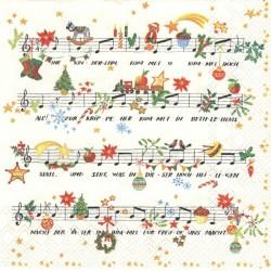 Noty Vánoce 33x33