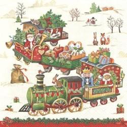 Vánoční vláček 33x33