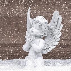 Anděl na hnědé 33x33