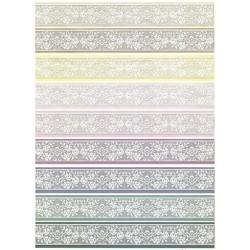 Papír soft A4 Krajkové bordury pastelové
