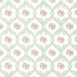 Tapetový vzor s růžičkami 33x33