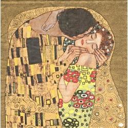 Klimt - Polibek 33x33