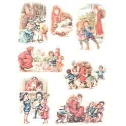 Papír rýžový A4 Vánoční hraní
