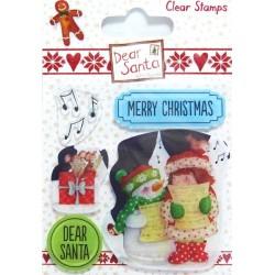 Transp.razítka Dear Santa