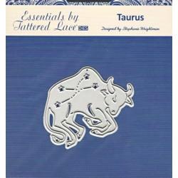 Vyřez.šablona Taurus (Býk) Tattered Lace