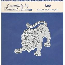 Vyřez.šablona Leo (Lev) Tattered Lace