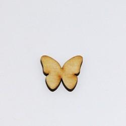 Dřev.dekorace - motýlek 2,5cm