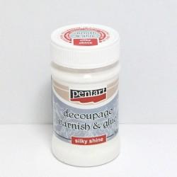 Decoupage lepidlo + lak 100ml, (Pentart)