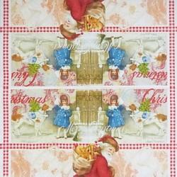 Retro Vánoce 33x33