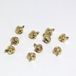 Rolničky zlaté 7mm, 10ks