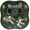 StazOn - Jet Black (razítková barva)