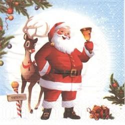 Santa a Rudolf 33x33