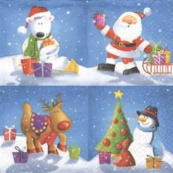 Vánoční malovaný 33x33