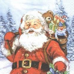 Santa a dárky 33x33