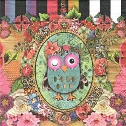 Owlie 33x33