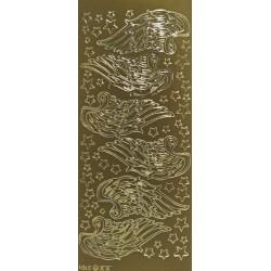Kontury Andělská křídla zlato