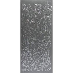Kontury Větvičky smrku stříbro