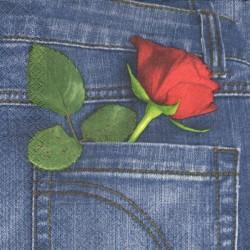 Skrytá růže 33x33