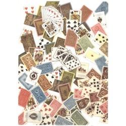 Papír rýžový A4 Vintage - karty