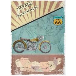 Papír rýžový A4 Route Us 66, Indian