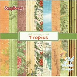 Sada papírů Tropics 15x15