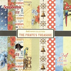 Sada papírů The Pirate´s Treasure 15x15