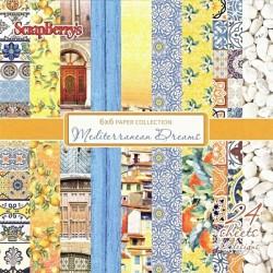 Sada papírů Mediterranean Dreams 15x15