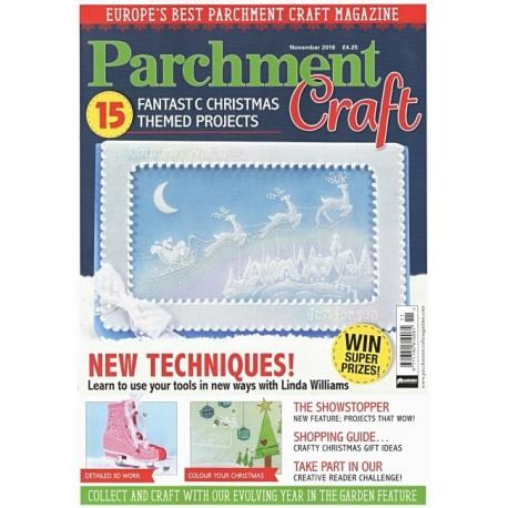 Parchment Craft 2016/11 - časopis