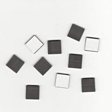Samolepící magnetky 1x1cm, 10ks