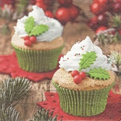 Vánoční dortíky 33x33