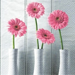 Růžové gerbery 33x33