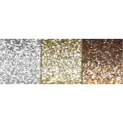 Dekorační lepící pásky 3ks - třpytivé