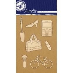 Sada kartonových výřezů Aurelie - Ženy